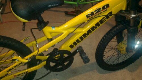 Hummer H20 Sopo Bicycle Cooperative