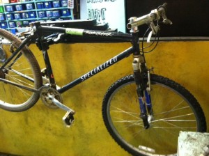 Specialized Rockhopper as-is: $25.  We got all the parts you need to make it your own!